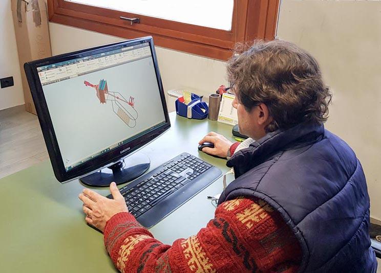 progettazione stalle CAD